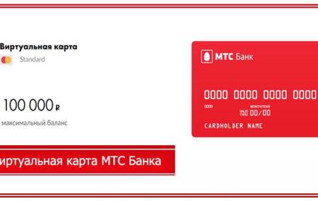 Виртуальная карта МТС деньги – условия и как получить в 2020 году