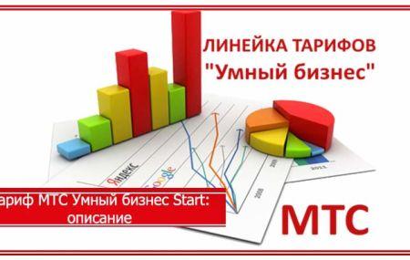 Тариф МТС «Умный бизнес Старт»: подробное описание