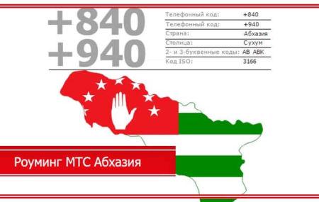 Роуминг МТС Абхазия – тарифы и стоимость в 2020 году